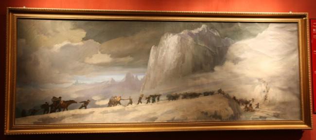 七律长征---红色记忆(纪念国庆60周年油画展)
