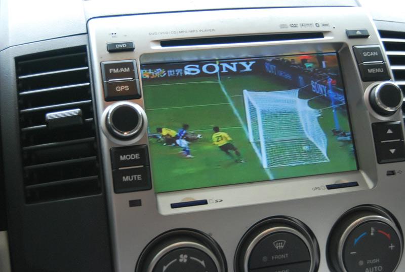 数字电视 加装倒车摄像头