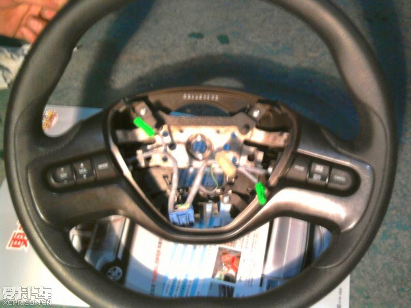 本田思域,加装定速巡航,cd控制按钮!精华