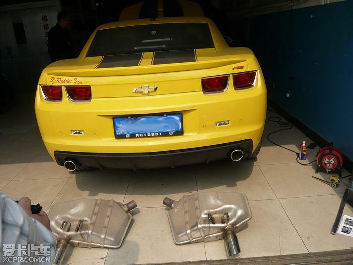 上海车展Camaro大黄蜂上市!发个作业来庆祝!MRT排气!