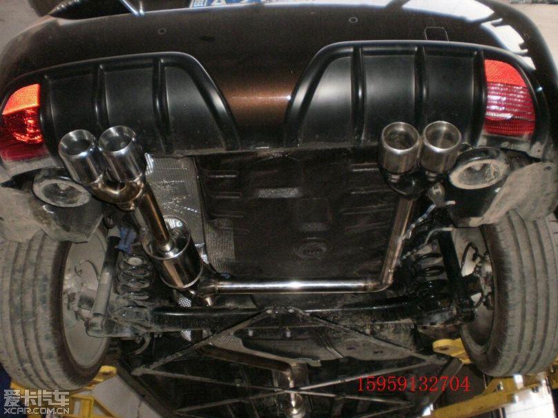 标致 308cc排气改装实例 鸿德 排气改装的 相册高清图片
