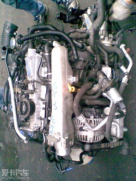 b5.宝来各车型发动机;图片