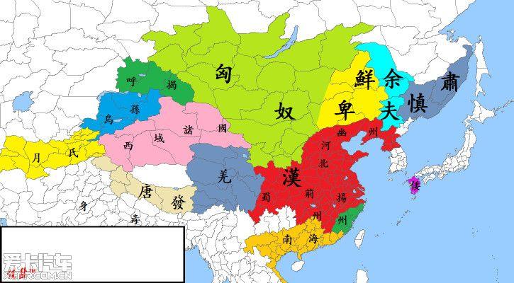 【周末】中国历代王朝统治疆域图有兴趣的可以来看看