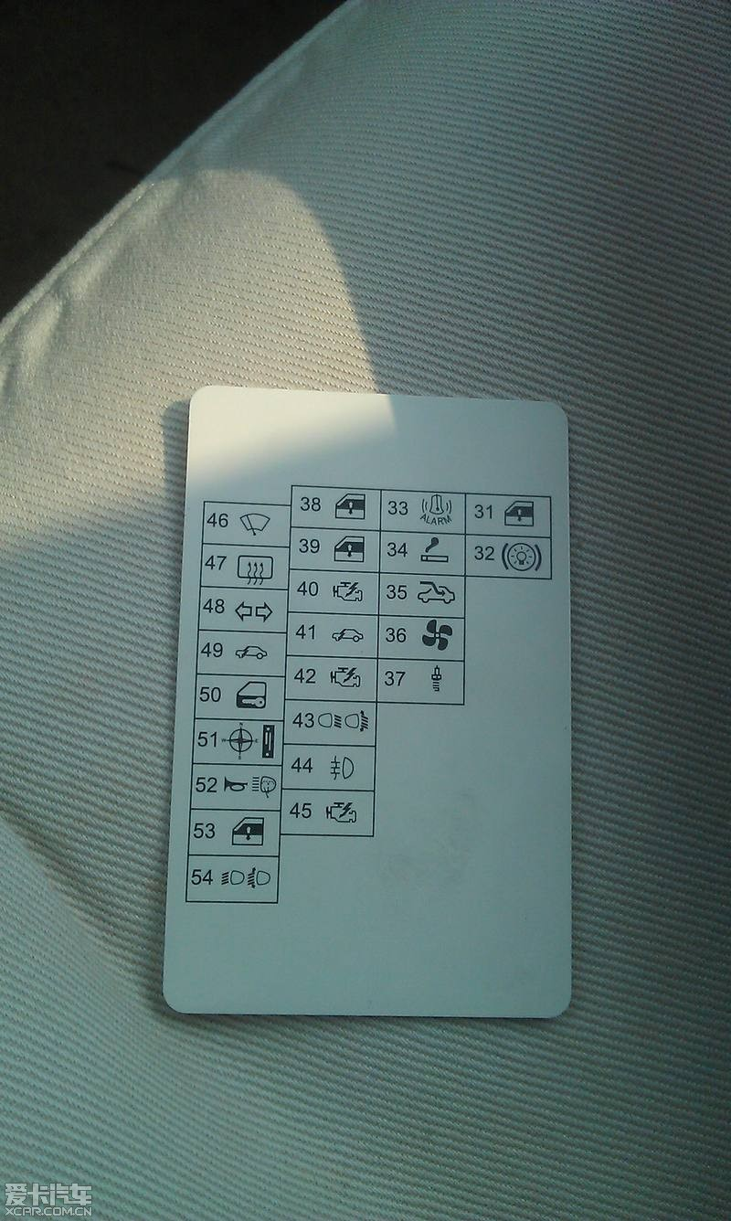 14款polo保险盒图解