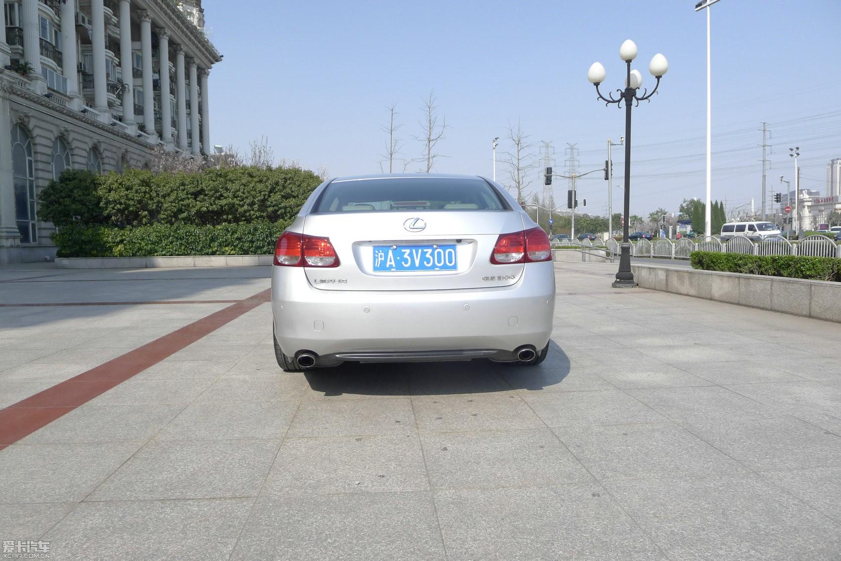 上海出售 雷克萨斯gs300 vip改装 全车原漆 大贸手续高清图片