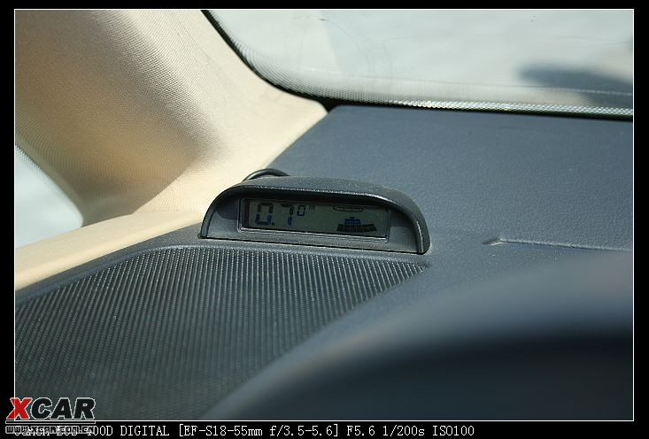 安安装倒车雷达高清图片