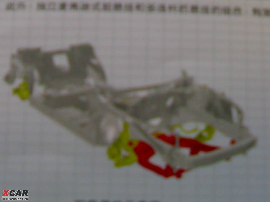 b平台跟d平台的不同.轩逸车身结构跟天籁车身结构的对比.