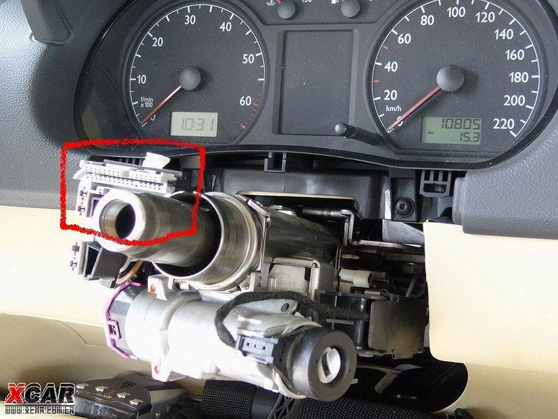 polo安装定速巡航接线方法