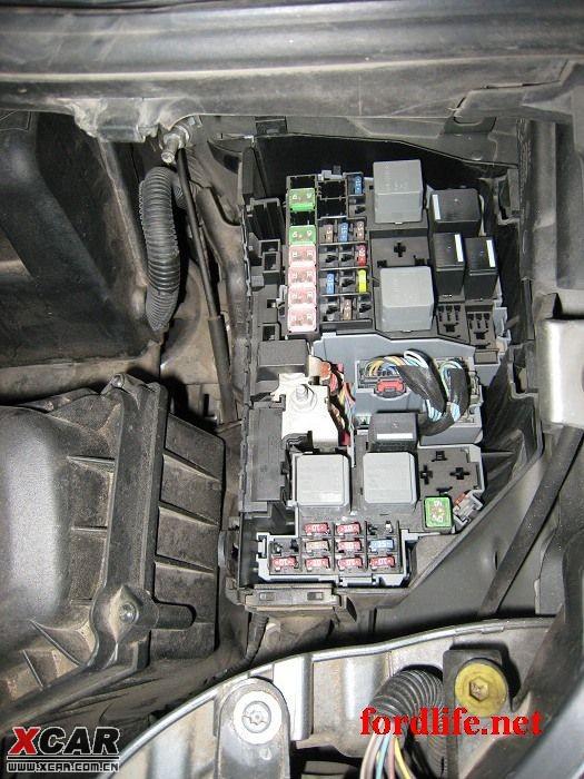 这个是发动机舱的保险盒