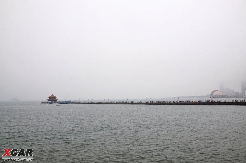青岛雨天风景摄影
