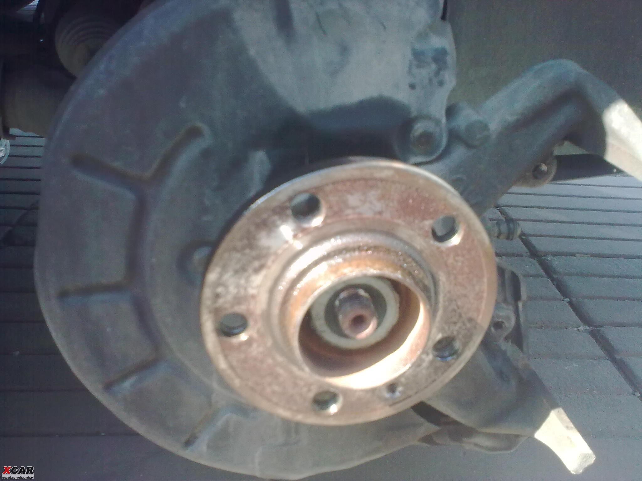 自助维护刹车系统消除刹车噪音详细作业,图片作业