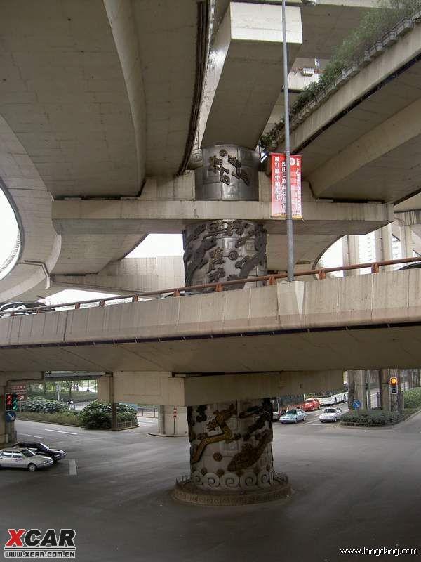 上海延安路龙柱_上海延安路高架龙柱事件