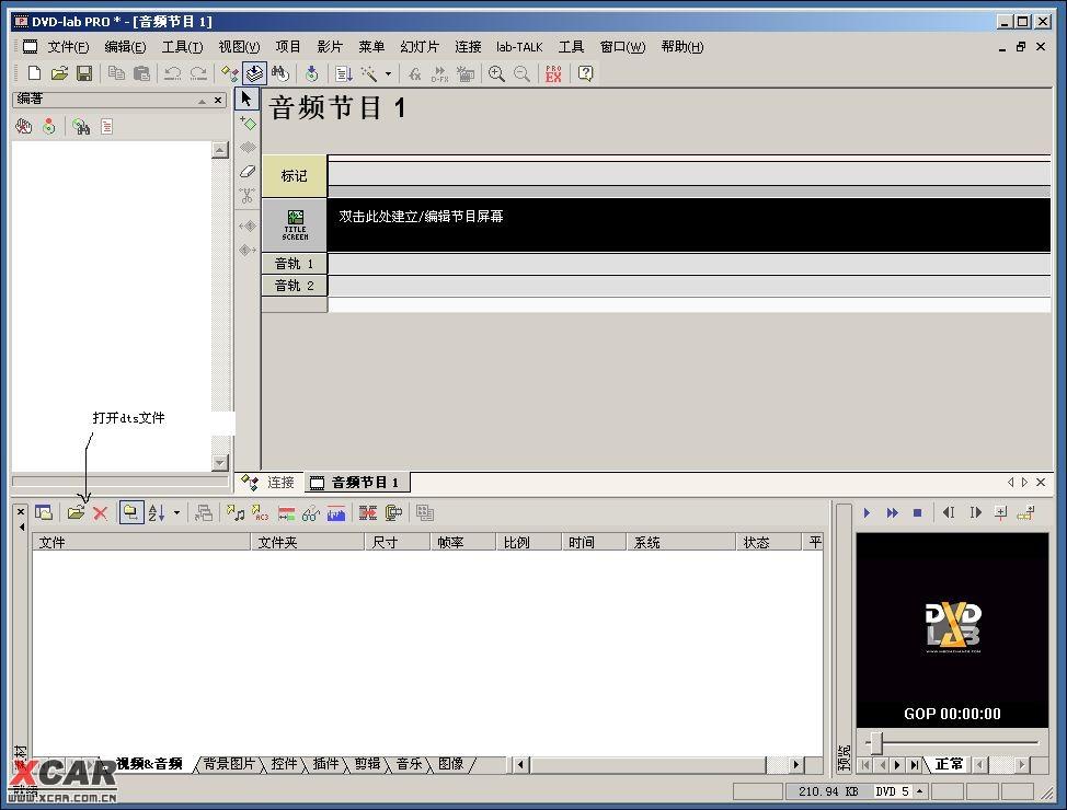 DTS-DVD的制做方法