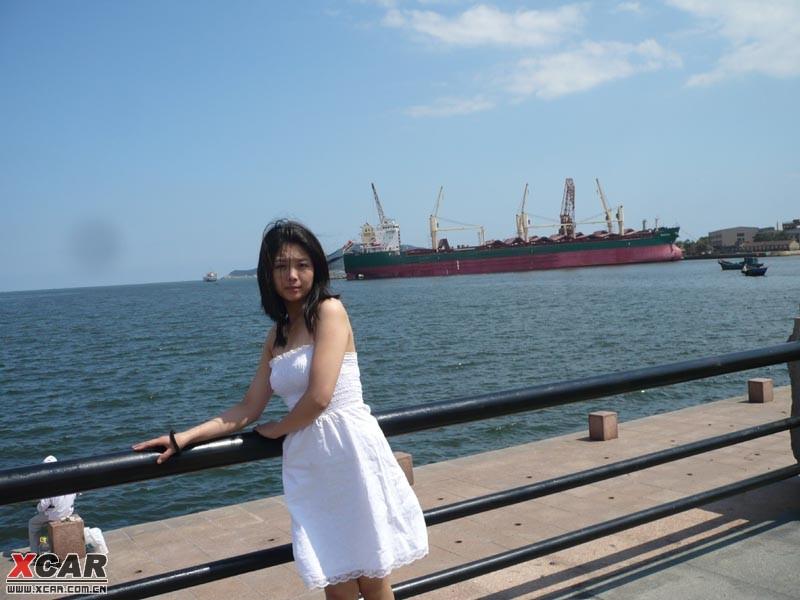 带刚泡到的美女去连云港青岛威海烟台日照看海吃海鲜