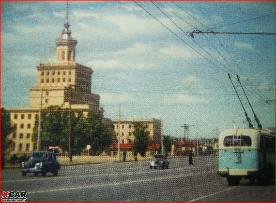 六十年代北京的街景
