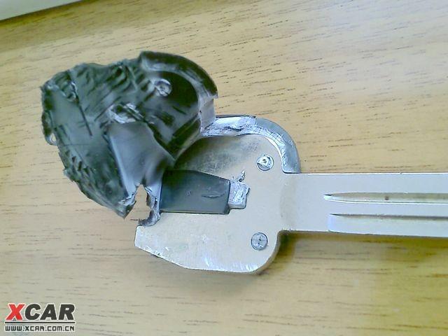 华泰圣达菲改装折叠钥匙 高清图片