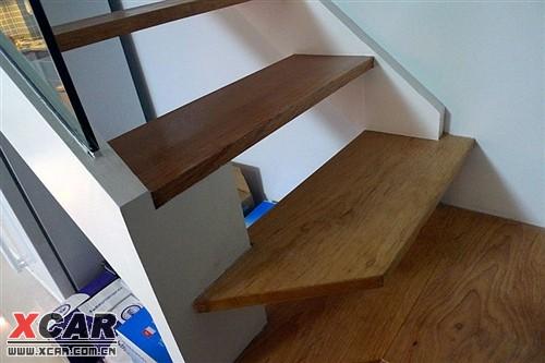 拾阶而上~~自制木楼梯,这个也是自满之作