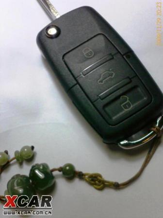 报告:连续使用2周无异常--改装折叠遥控钥匙成功!!!