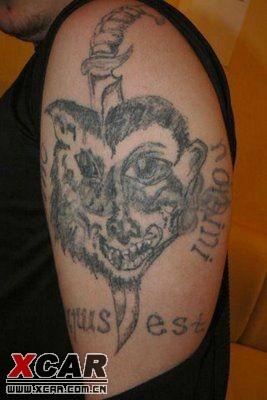 【爆笑:失败纹身大全,冲动是魔鬼】