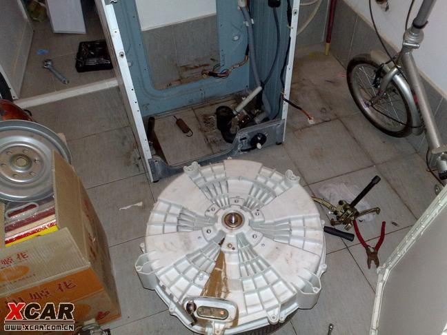 【精华】换洗衣机轴承diy