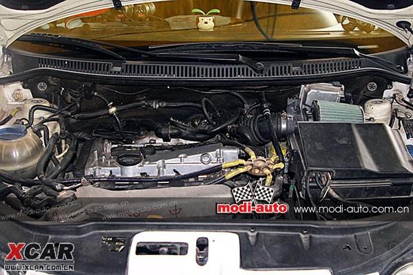 这台1.8t的引擎代号agu源自宝来