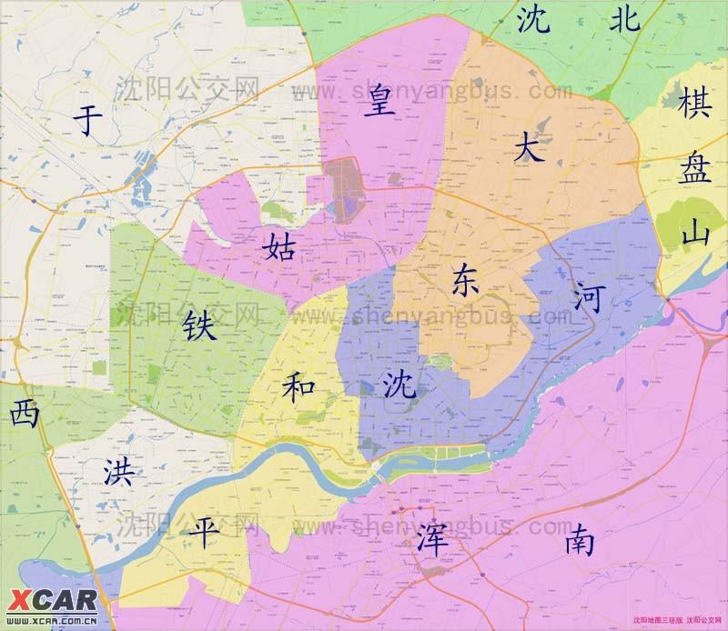 沈阳地图简笔画