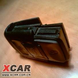 自己动手拆帕萨特的遥控钥匙换电池高清图片
