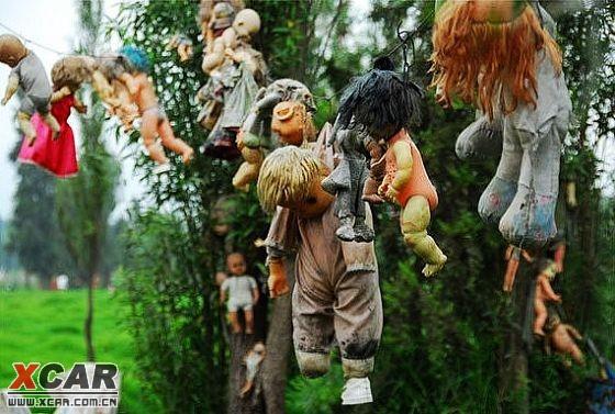墨西哥鬼娃娃岛探秘