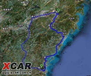 京台高速福建段地图