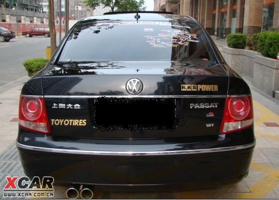出售抵帐车08年帕萨特领驭1.8T手动档高配一辆.行车证在.原厂钥匙.高清图片