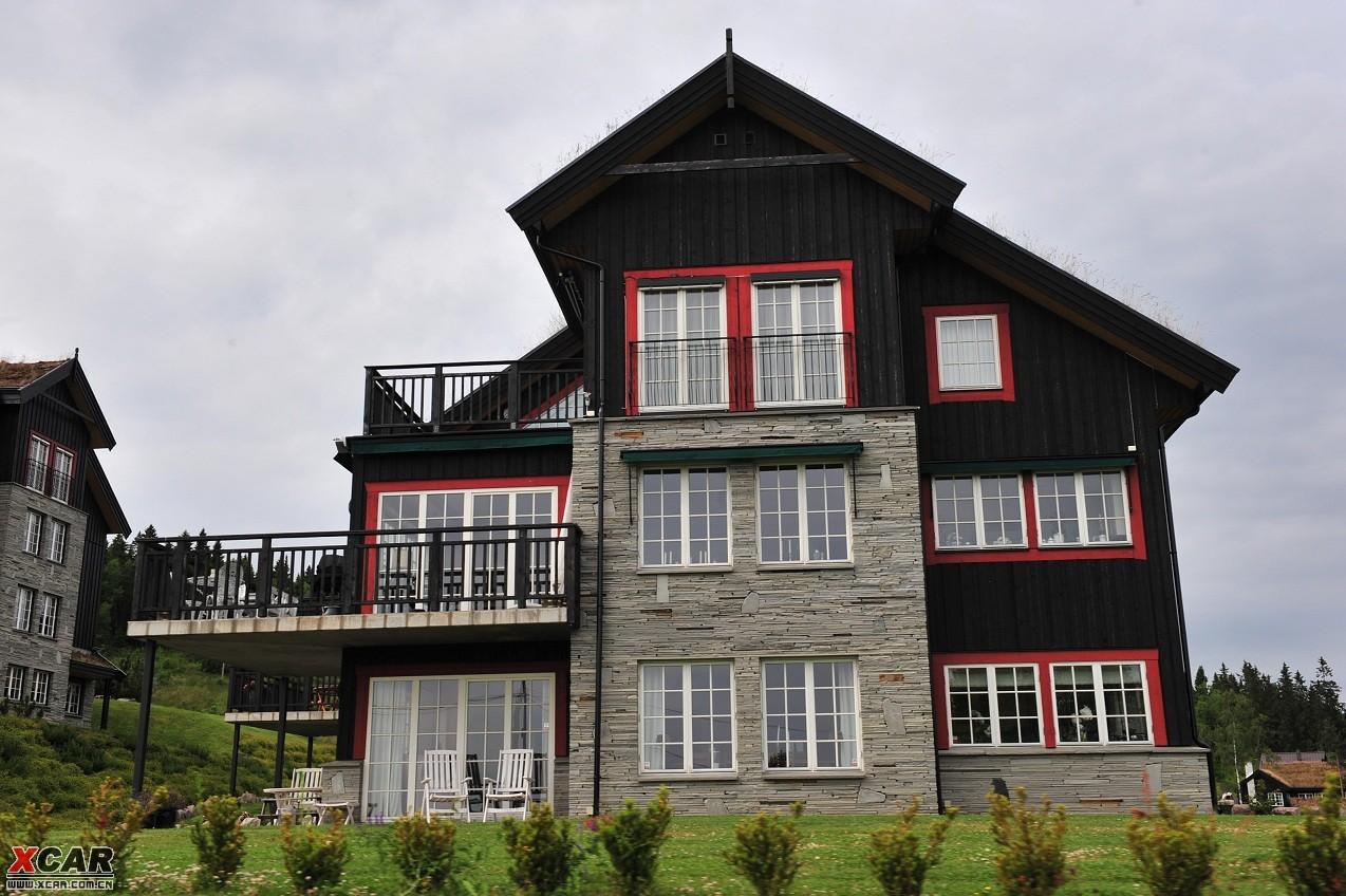 挪威别墅平面设计图