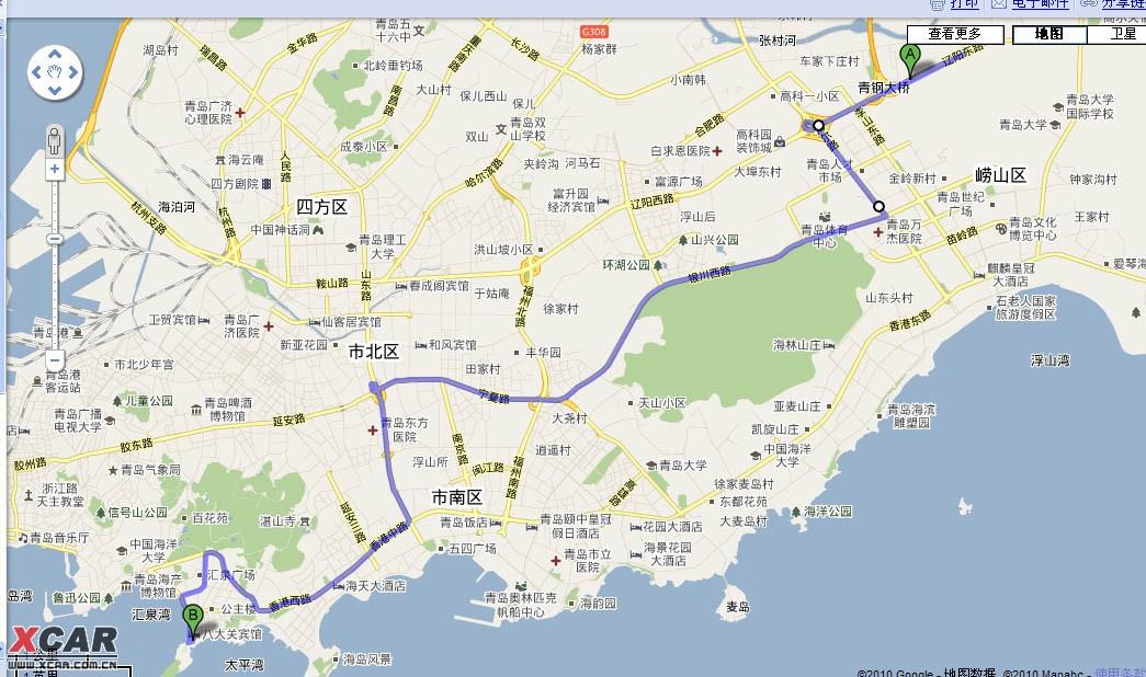 准备下周去青岛旅游,有问题求教.