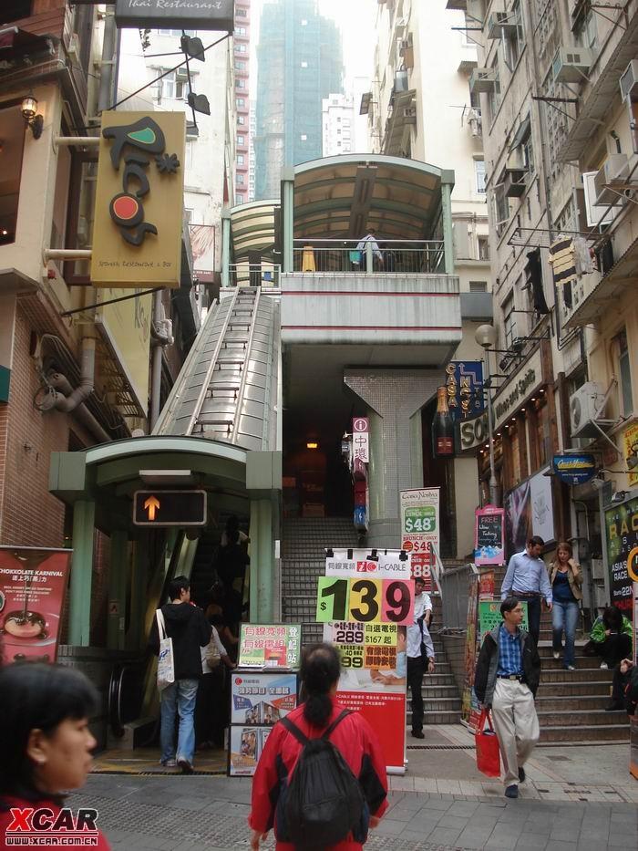 《重庆森林》中出现过的户外有顶手扶电梯.