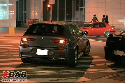 美得无法形容的意式的WAGON Alfa 156 GTA Sportwagon...