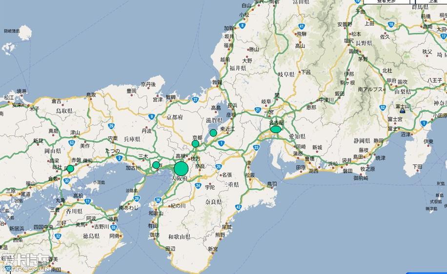 日本地�_全方位感受日本!名古屋,阪神地区,冈山等地随拍
