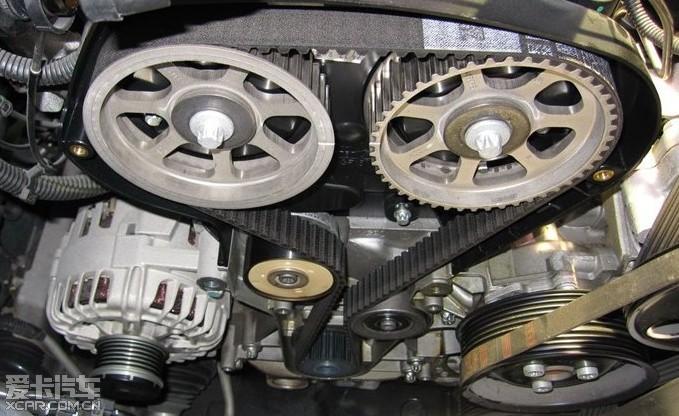 发动机正时皮带 斯巴鲁正时皮带记号 c5正时皮带记号高清图片