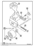 重新编辑达达皮带异响的(原因)皮带的检测调整要有专门的仪器
