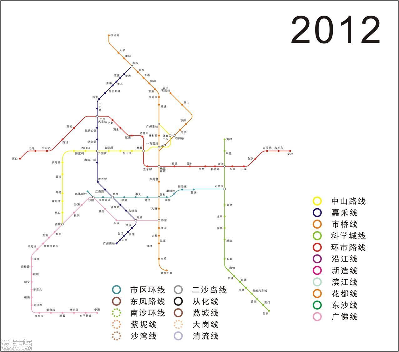 广州14号线地铁线路图-LANM的相片图片