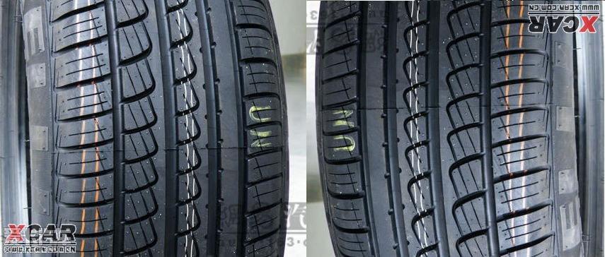 看图:非对称花纹轮胎,装车后左右轮胎花纹方向也不对称吗?