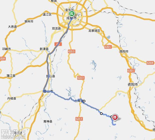 仁寿富加镇规划图纸