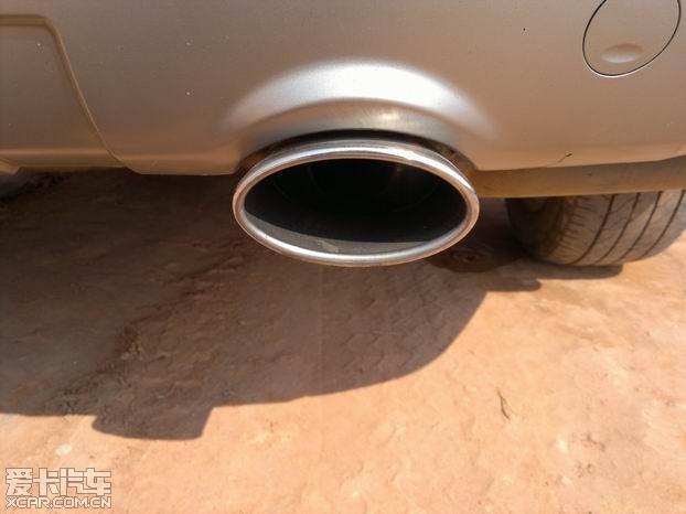 科帕奇排气管改装高清图片