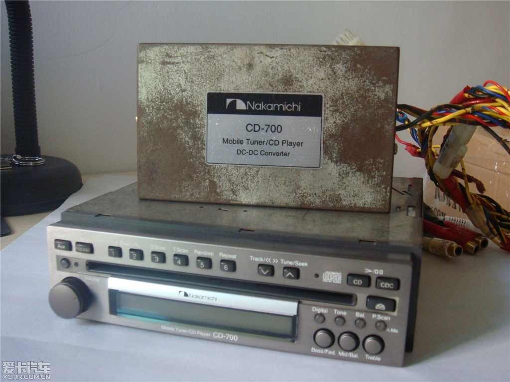 出个发烧汽车音响主机日本中道cd 700 3500元高清图片