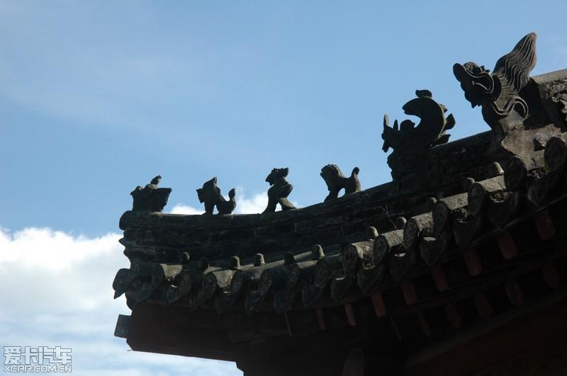 抬梁式大木结构