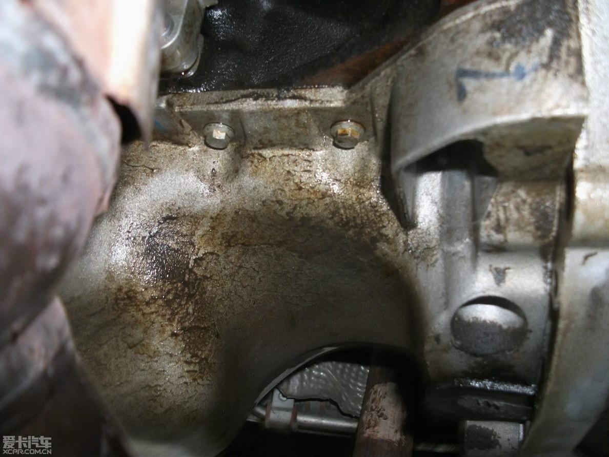 投诉 雪铁龙世嘉1.6,发动机漏油高清图片