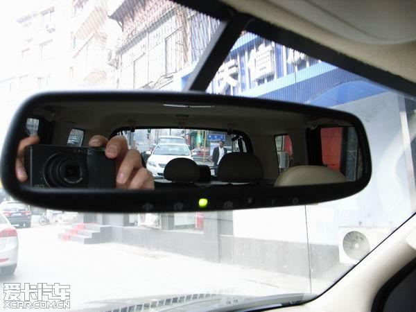 翼虎加装带车库遥控装置的电子防眩目后视镜(多图)精华