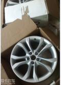 从TTS车友购回来的TTS轮毂装不上我车。。挥泪转让A6L车友升级S6。