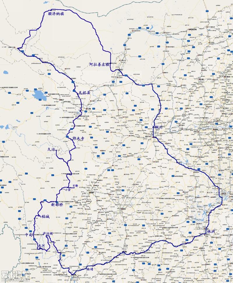 黑城怪树林景区地图