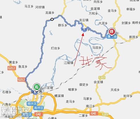 蓬安利溪动物园地图