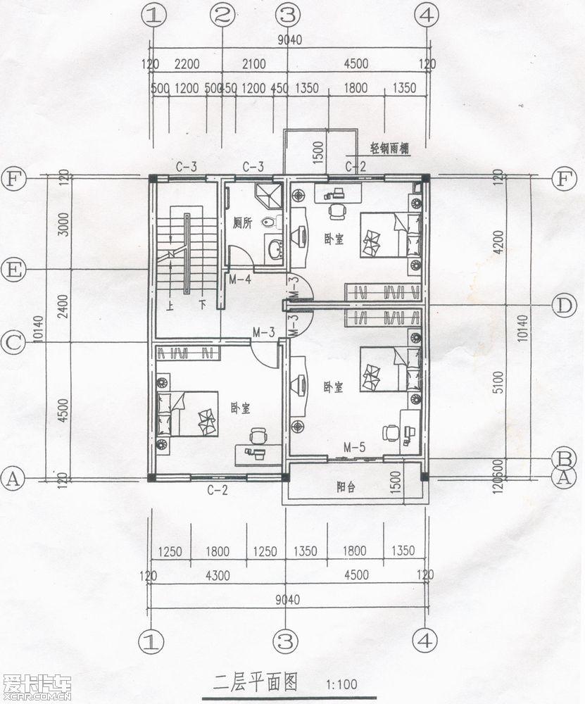 农村自建房设计图_云南农村建房设计图_二层半自建
