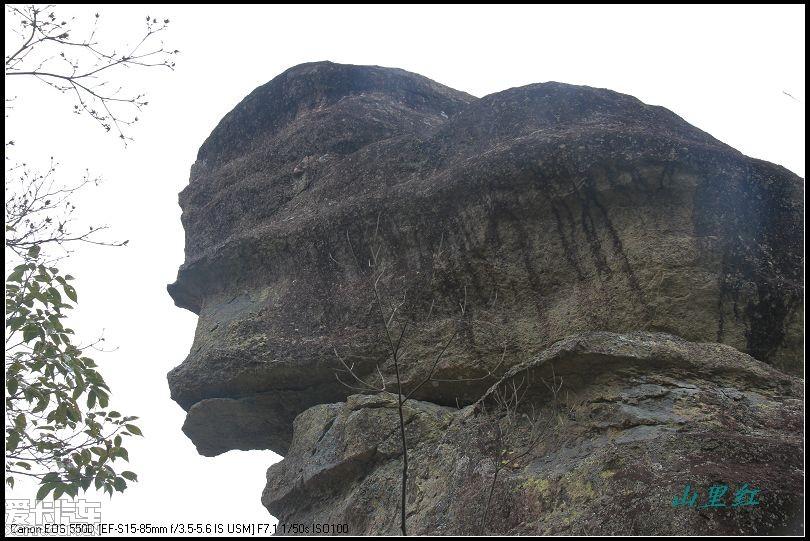 洞宫山景区——仙岩岭风光